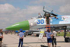 "Sukhoi Su-27 (7) • <a style=""font-size:0.8em;"" href=""http://www.flickr.com/photos/81723459@N04/9962578705/"" target=""_blank"">View on Flickr</a>"
