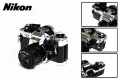 "Nikon FE 2 (""Orion Pax"") Tags: camera 2 nikon lego fe authentic intricate realistic moc alexjones orionpax"
