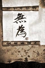"""""""Wu Wei"""" -:- 0112 (buddhadog) Tags: 300 calligraphy wuwei liunan 100vu"""