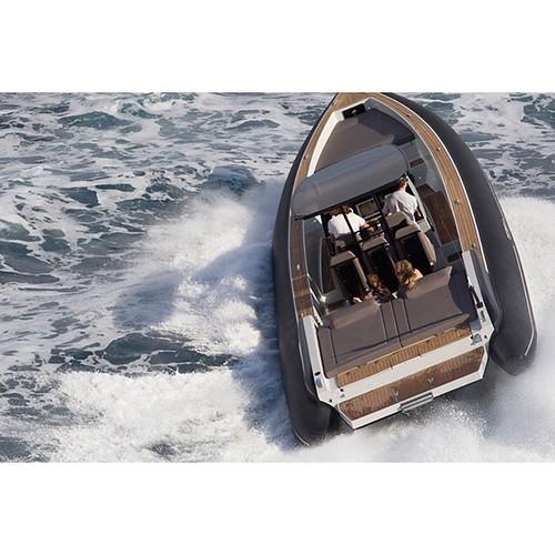 Ribbing! #greece #summer #greekislands #boat #sea #waves