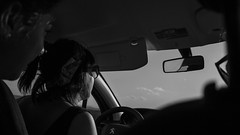 New adventures ahead (Clalemany) Tags: trip bw spain noiretblanc desierto navarra bardenas reales