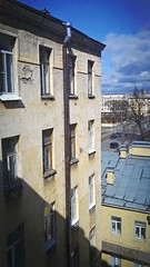 Window view - 3 (perlamuter) Tags: windows sky weather clouds spring rooftops windowview saintpetersburg 2015