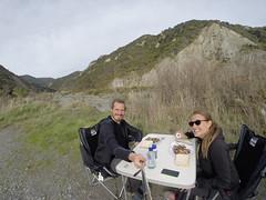 Photo de 14h - Sur le parking des Pinnacles à Cape Palliser (Nouvelle-Zélande) - 18.05.2014