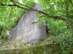 Bunker Bahnhof Leibstadt, Seite zum Rhein, Aargau, Switzerland (W-chlaus) Tags: schweiz switzerland suisse fort swiss wwii bunker ww2 rhein aargau bunkerfreunde