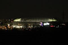 Arena Zagreb at night (DSHPhotography.) Tags: city sport lights outdoor croatia arena zagreb atnight architecure hrvatska