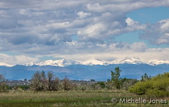 May 17, 2015 - The beautiful snow-capped Rocky Mountains. (Michelle Jones)