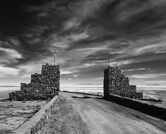 (josenaranjo_8) Tags: blackandwhite white black desert salt desierto salar muralla uyuni