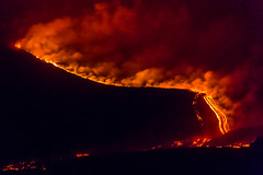 The euption of Etna volcano (Musmeci Gianluca) Tags: panorama landscape volcano lava sicily etna eruption vulcano pietracannone