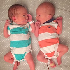 Arrival of Teller and Nixon May (emily @ go haus go) Tags: babies arrival birthstory twinboys arrivalstory thebrothersmay