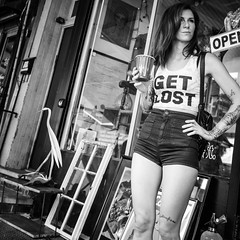 Get Lost (Andrew Sweigart) Tags: blackandwhite bw philadelphia monochrome mono streetphotography streethunters