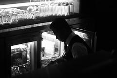 Goblets & Tumblers (N A Y E E M) Tags: johnny bartender friend fridge light glass goblet candid portrait evening baikalbar radissonblu hotel chittagong bangladesh sooc raw unedited untouched unposed availablelight indoors bokeh