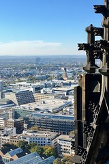 Auf dem Turm des Klner Doms (thunderbird-72) Tags: dom kln cathedral cologne