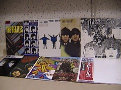 Beatles album collection (lincoln6267) Tags: beatles album collection albums records