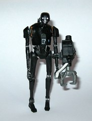 k-2so star wars rogue one basic action figures 2016 hasbro e (tjparkside) Tags: k2so star wars rogue one basic action figures 2016 hasbro mosc 1 r1 375 inch 5poa figure disney studio effects ap app rebel rebels alliance base insertion agent droid droids zipline k 2so