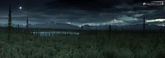 Full moon above Nabesna Valley (dieLeuchtturms) Tags: alaska america amerika campground mond mondlicht mountsanford nabesnaroad nacht nordamerika northamerica panorama querformat schildvulkan thelastfrontierstate usa unitedstates vereinigtestaaten vollmond vulkan wrangellsainteliasnationalpark cylindrical horizontal lunarlight moon moonlight night volcano vulcano zylindrisch slana nabesna road
