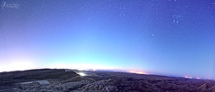 Colorful night (Israel Nature Photography by Ary) Tags: canon apsc israel night stars desert panorama tokina darktable microsoftice 1116mm