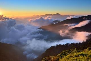 Sea of clouds, Mountain Hehuan