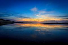 Avant la nuit (flo40140) Tags: aquitaine eau uga sun ocean ocan soleil plage sea france grandangle landscape landes mer water canon canon60d canon1018 coucherdesoleil nature sunrise paysage