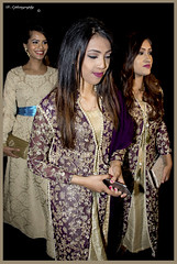 Trio off Girls attending sisters wedding (dark-dawud) Tags: asianladies girls women portrait trio three beauty beautiful happy smiles wedding bengali smart mobilephone bengaliwedding
