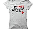 New The Heart Whisperer Cardiac Nurse Unique Funny Women T-Shirt Size S-2XL (Adiovith) Tags: new the heart whisperer cardiac nurse unique funny women tshirt size s2xl