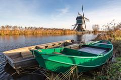 Dutch scenery (wimzilver) Tags: ammersekade wimboon alblasserwaard holland nederland molen grootammers canonef1635mmf4lisusm canoneos5dmarkiii polarisatiefilter polafilter