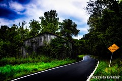 08-31-2014-16-18-46-Edit-device-2000-wm (iSuffusion) Tags: barn d7000 kentucky taylorsville tokina1224mm abandoned countryroads decay hdr nikon rain unitedstates us