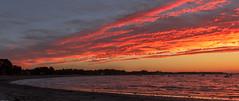 Lever du soleil / at sunrise / zonsopgang (tribsa2) Tags: sky seaside seascape sunrisesunset shoreline bretagne marculescueugendreamsoflightportal france frankrijk