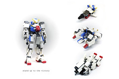 victory (the_2_rabbits) Tags: victory gundam mobile suit lego mech core fighter moc 2rabbits transformable