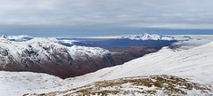 Skiddaw (Ice Globe) Tags: langdale great valley national trust mountain mountains lake district cumbria winter snow snowy icy ice white blue view views panorama panoramic nikon d5100 35mm skiddaw pikes