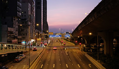 """""""another day is almost done"""" (hugo poon - one day in my life) Tags: xt2 23mmf2 hongkong saiyingpun connaughtroadwest dusk sunset colours vanishing reminiscing city urban flyover"""