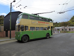 Electric Trolley Bus (avesinc54) Tags: black country museum canal trust dudley peaky blinders bus trolly double dekker caverns barges canals towns