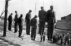 Public execution by the Nazis (lennygaunt) Tags: public execution nazis krakow black white ww2 insperation