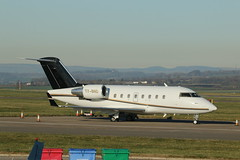 T7-BND. (aitch tee) Tags: cardiffairport visitors bizjet aircraft t7bnd cwlegff maesawyrcaerdydd walesuk challenger