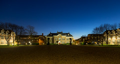 University College Utrecht (Bart Weerdenburg) Tags: utrecht universitycollege college bluehour blue lights november winter cold evening