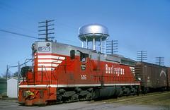 CB&Q SD24 506 (Chuck Zeiler) Tags: cbq sd24 506 burlington railroad emd locomotive naperville train chz