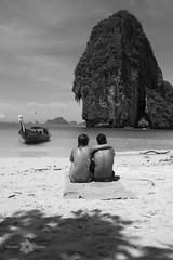 Railay (Almu_Martinez_Jiménez) Tags: thailand tailandia smile land paraíso viaje summer 2014 krabi bangkok chiang mai paz buda people canon travel lonelytravel