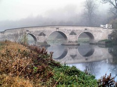 005 November fog (saxonfenken) Tags: 6911bridge 6911 miltonbridge fog mist reflection still peaceful challengeyouwinner perepetual suuperhero gamewinner thechallengefactory pregamewinner
