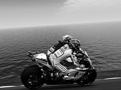 Two motorsport drivers (driver Photographer) Tags:   aprilia cagiva honda kawasaki husqvarna ktm simson suzuki yamaha ducati daytona buell motoguzzi triumph bmv driver motorcycle leathers dainese