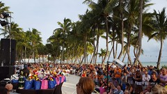 The crowd for the pet masquerate at Casa Marina (the queen of subtle) Tags: fall 2016 keywest petmasquerade casamarina