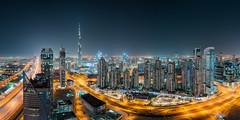 Dubai Panorama (stefanschaefer90) Tags: dubai vae uae emirates skyline cityscape burj khalifa