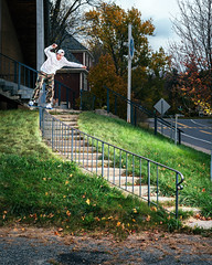 curvy boardslide (RyanLebel) Tags: charles deschamps cover kingshit magazine issue 85 skate skateboard montreal