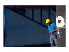 (ignaciogutirrezohlsson) Tags: chile santiago streetphotography street blue city color calle d3100 nikon decisive moment 50mm