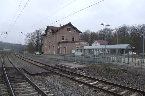 Maulbronn West railway station, 06.04.2012.