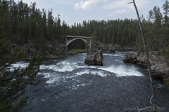"Yellowstone River with old bridge • <a style=""font-size:0.8em;"" href=""http://www.flickr.com/photos/63501323@N07/30732302401/"" target=""_blank"">View on Flickr</a>"