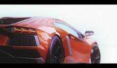 Aventador (Thomas_982) Tags: gt5 gt6 cars italy lamborghini aventador ps3 gran turismo gemasolar spain red rosso