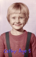Cathy Davis - 1957 (Hook-Blazey Family Photo History) Tags: cathydavis cathyhook iroquois ontario
