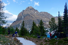 Camp at Shangri-la (Dunbar Lakes) (*Andrea B) Tags: july 2016 july2016 radium summer canadaday long weekend hike hiking backpack backpacking camp camping tiger pass shangrila dunbar lakes ethelbert mount purcell purcells mountains mountain columbia river valley septet range bc british