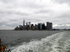 Manhattan Skyline Sailing on the Staten Iisland Ferry New York November 2016  (7) (Richie Wisbey) Tags: manhattan skyline staten island ferry fre service new york