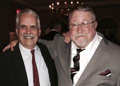 Mike Saladik with Wally Grummun