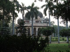 Tomb Of Muhammad Shah Sayyid, Lodi Gardens, New Delhi (bearlike1) Tags: india new delhi tomb monument garden gardens historic history ancient jungle dome awesome amazing wonderful outside outdoors burial